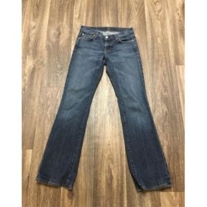 7 Seven for all Mankind Bootcut Jeans Sz 26